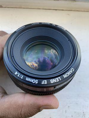 Canon EF 50mm f1.4 for Sale in Philadelphia, PA