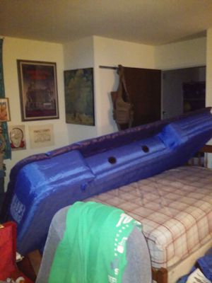Air Mattress for truck bed 6'x8'x1.5'aprox. With pump in bed AC/DC cords lighter or wall. NEW....... for Sale in Hatboro, PA