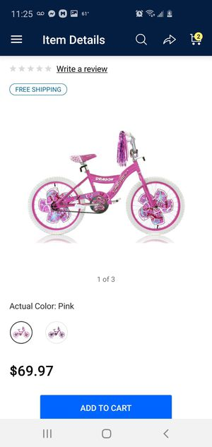 Girls 20in bike for Sale in Banning, CA