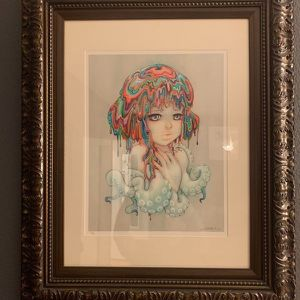 Camilla d'Errico Candy ANIME Cosplay Comic-Con Limited Print framed for Sale in Los Angeles, CA