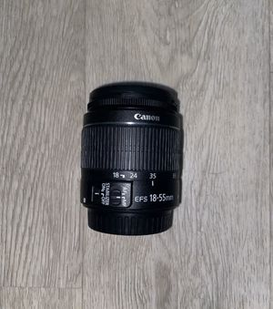 Canon EF-S 18-55mm f/3.5-5.6 IS II Lens - Excellent Condition w/ Caps for Sale in Miami, FL