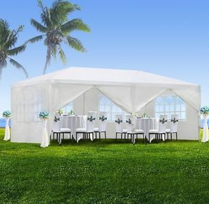 Outdoor Gazebo Canopy Wedding Party Tent 10' x 20' Shelter 6 Removable Window Walls for Sale in West Carson, CA