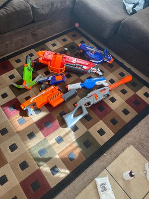 Nerf gun lot for Sale in NM, US