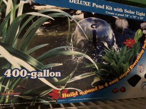 Pond kit for Sale in Forney, TX