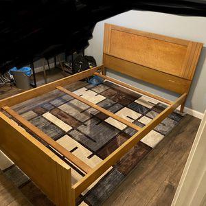 Full Size Bed frame & 5 Drawer Dresser for Sale in North Ridgeville, OH