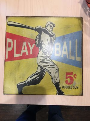 Metal wall decor for boys room. for Sale in Mooresville, NC