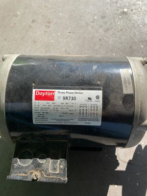 Dayton compressor motor for Sale in Cedar Creek, TX