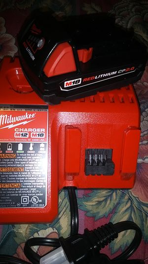 Milwaukee Battery + Charger for Sale in Portland, OR