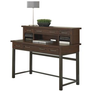 Beautiful Wood Desk with Hutch for Sale in Los Angeles, CA