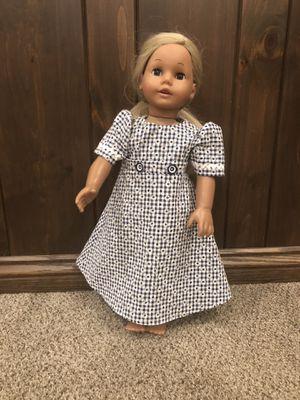 """New handmade homemade 18"""" modest full length doll dress for Sale in Halifax, PA"""