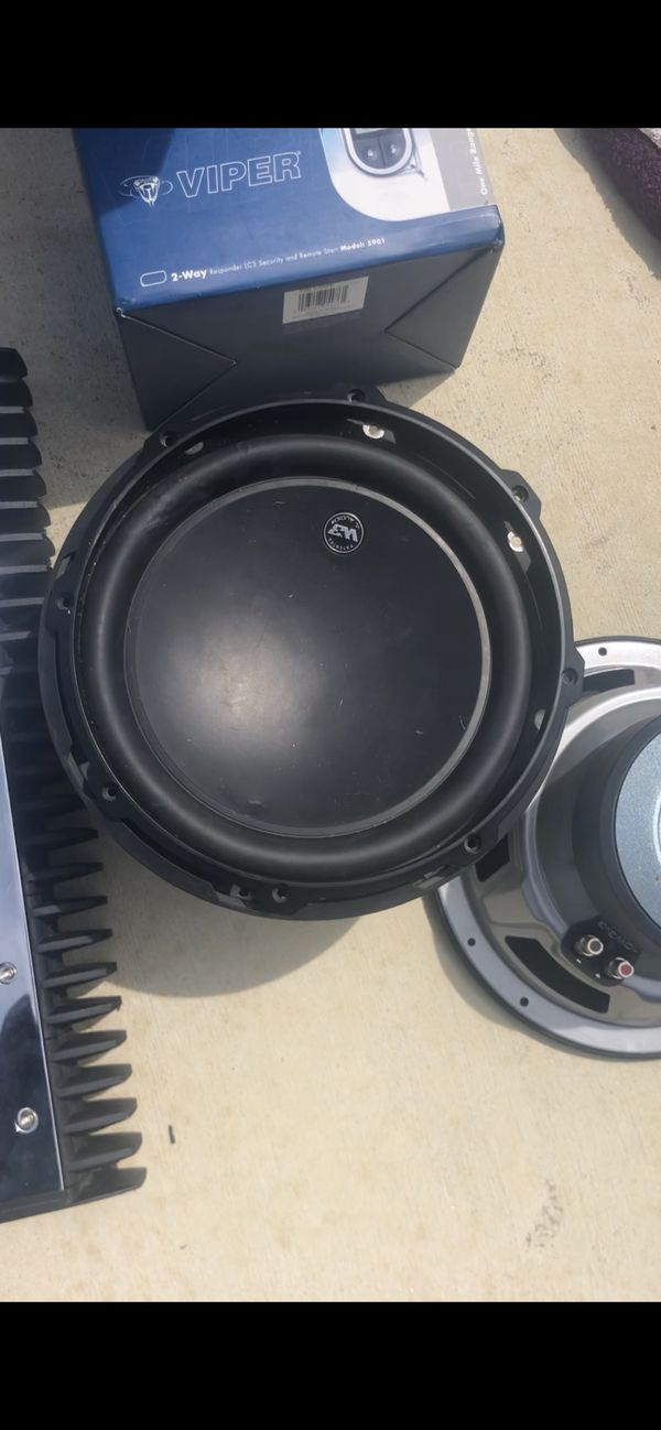 Amps and subs