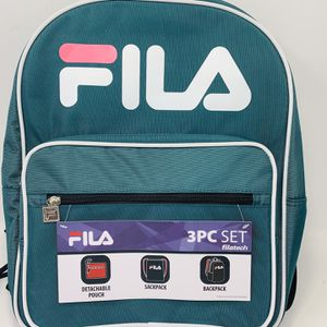 Fila Men's Backpack Sackpack Pouch 3pc Set - New Backpacks, Bags & Briefcases for Sale in El Monte, CA
