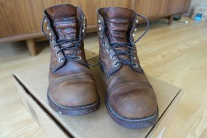 Red Wing Iron Ranger boots 10 EE - amber harness for Sale in San Francisco, CA