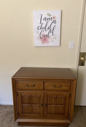 Small antique dresser cabinet for Sale in Rosemead, CA
