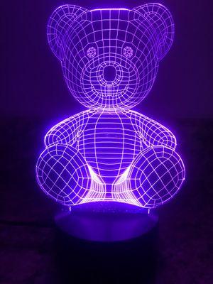 Teddy bear 🧸 3D lamp! for Sale in Las Vegas, NV