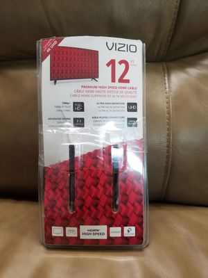 12' Vizio HDMI Cable for Sale in Lexington, KY