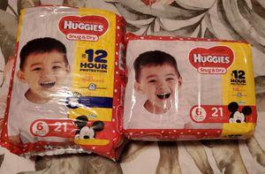 Huggies size 6 for Sale in Bakersfield, CA