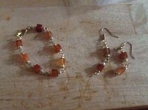 Earring/ bracelet set for Sale in Philadelphia, PA