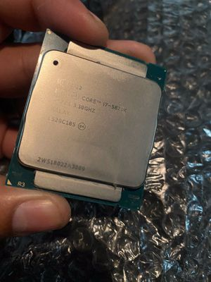 Intel I7 5820k LGA 2011 V3 for Sale in Los Angeles, CA