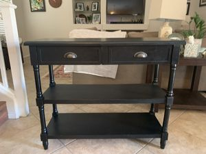 Black console table for Sale in Chandler, AZ
