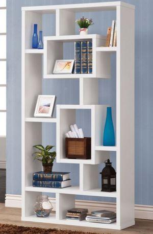 Cubic white bookshelf for Sale in San Leandro, CA