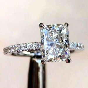 3 CT Halo engagement/promise ring 14K white gold over for Sale in Los Angeles, CA