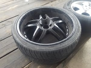 22 rims black powder coated rims for Sale in Independence, MO