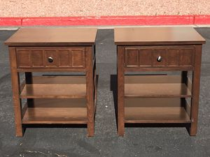 2 End Tables for Sale in Las Vegas, NV