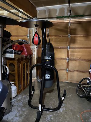 Everlast punching and speed bag for Sale in Everett, WA