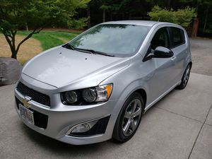 2014 Chevy sonic rs clean title, one owner, 60,000 miles for Sale in Silver Lake, WA