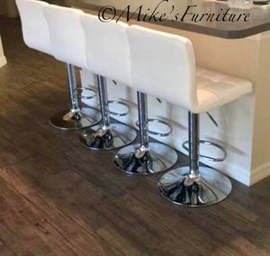 Brand new 4 white bar stools ( shipping is available) for Sale in Orlando, FL
