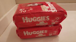Huggies little snugglers size 2 diapers for Sale in Pickerington, OH