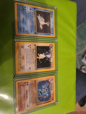 3 first edition holo pokemon cards for Sale in Kenneth City, FL