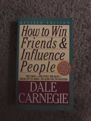 How to Win Friends & Influence People - Dale Carnegie for Sale in Gainesville, FL