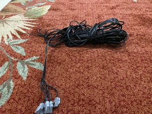 Wire cable for Bose Acoustimas 5.1 channel about 15-20 feet long each. for Sale in Los Angeles, CA