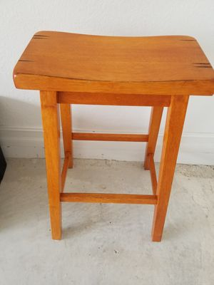 Bar stool--solid wood for Sale in Pompano Beach, FL