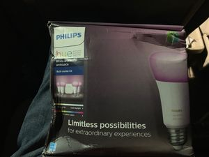 PHILIPS HUE PERSONAL WIRELESS LIGHTING for Sale in Seattle, WA