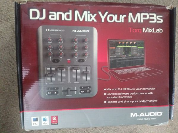 M-Audio torq mix lab dj digital pro