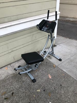 Ab Coaster workout machine for Sale in San Francisco, CA
