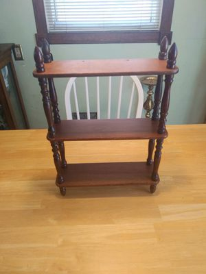 Solid wood open shelf for Sale in Caldwell, ID