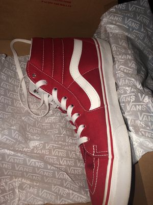 Formula Red vans size 12 for Sale in Cleveland, OH