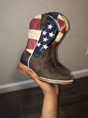 Cowboy boots for Sale in Huntington Beach, CA