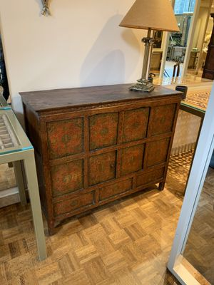 Antique Tibetan pine cabinet for Sale in Seattle, WA