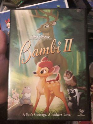 Disney Bambi 2 dvd for Sale in Henderson, NV