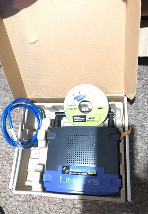 Linksys wireless router for Sale in Kinston, NC