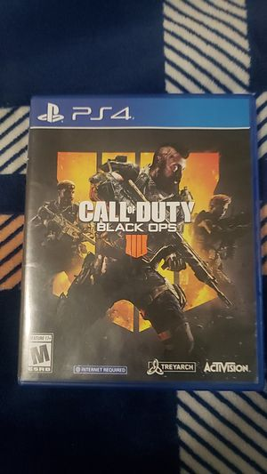 Call of duty black ops ps4 for Sale in Whittier, CA