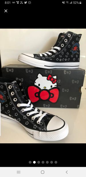 Hello Kitty converse chuck taylor for Sale in Silver Spring, MD