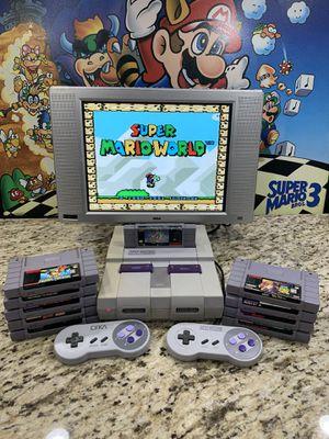 "Super Nintendo Bundle Deal ""SNES"" for Sale in Arcadia, CA"