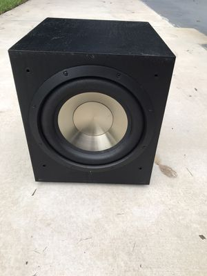 Home Theater 12 inch subwoofer - BIC F12 for Sale in Coral Springs, FL