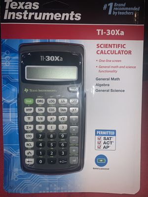 Calculator ; TI-30Xa ; 39$ for all 3, 13$ each. for Sale in Victorville, CA